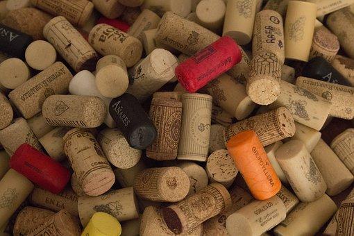 Corks, Wine, Plugs, Oenology, Cap