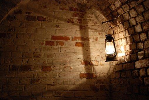 Replacement Lamp, Lake Dusia, Shadow, Old, Lantern