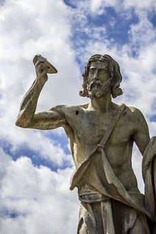 Rome, Statue, Statues, Sport, Roma Capitale, Italy