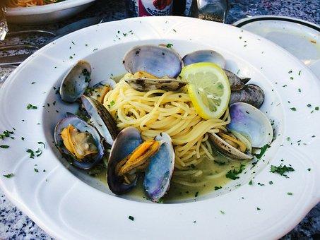 Linguini Bongole, Italian Food, Spagetti