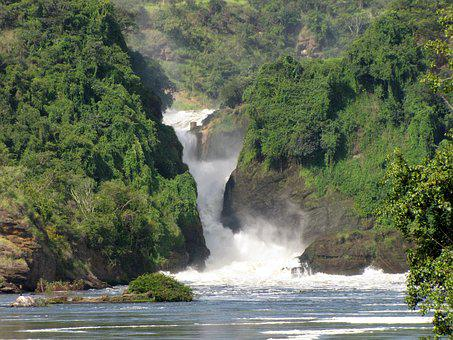 Murchison Falls, Waterfall, Uganda