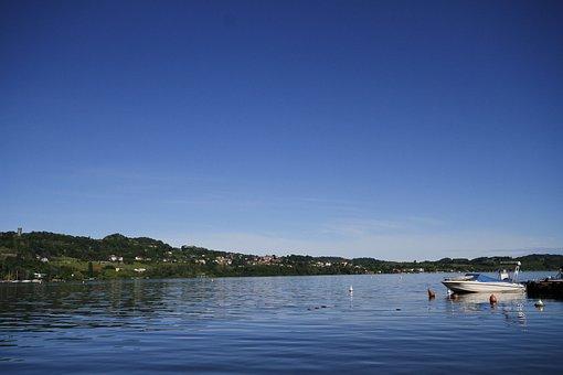 Lake Viverone, Landscape, Lake, Italy, Vista, Water