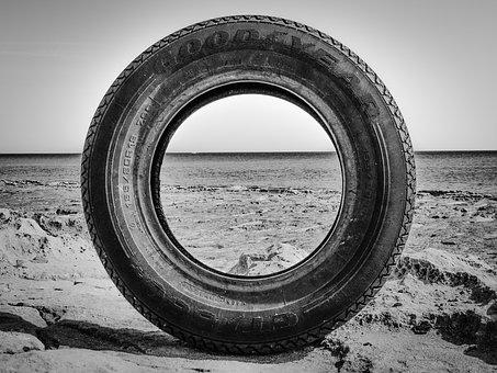 Tire, Discarded, Rubber, Waste, Used, Garbage