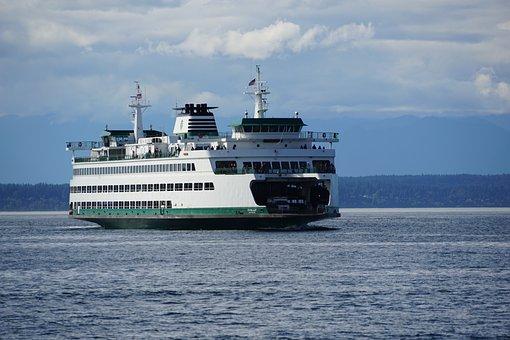Seattle, Ferries, Water, Northwest, Waterfront, Tourism