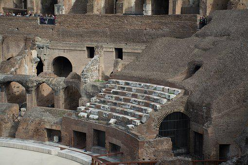 Coloseum, Rome, Amphitheater, Ancient, Italy