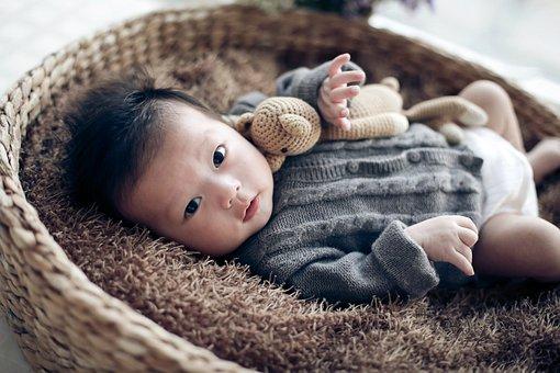 Baby, Children, Beige, One Hundred Days