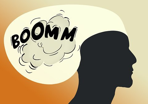 Head, Think, Human, Explosion, Detonation, Burst