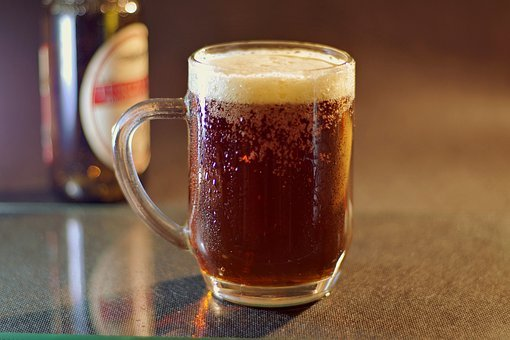 Beer, Dark, A Pint, Mousse, Caramel, Cold, Refreshing