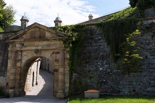Hohenasperg, Castle, Prison, Wall, Old, Old Masonry