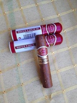 Cigar, Cuba, Habana, Romeo Y Julieta, Petit Churchill