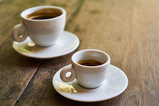 Coffee, Cafe, Table, Beverage, Cup, Food, Coffee Cup
