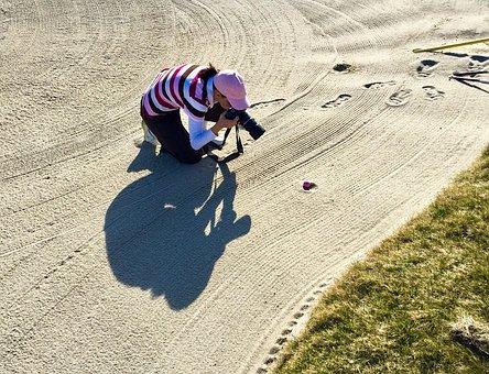 Golf, Sport, Photographer, Game, Golfer, Ball, Field
