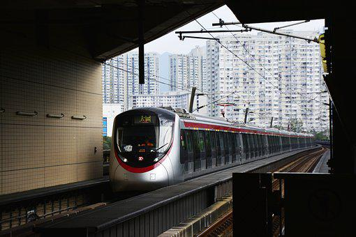 Hong Kong, Mtr, Train, Transport, Subway