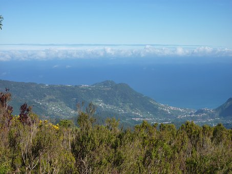 Madeira, Landscape, Ocean
