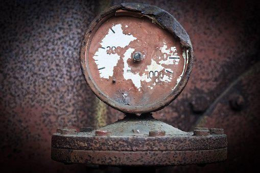Ad, Gauge, Scalla, Old, Fittings, Machine
