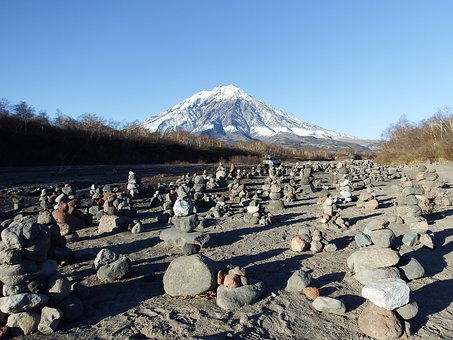 Volcano, Kamchatka, Peninsula, Journey, Tourism, Stones