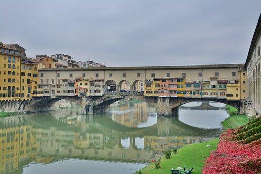 Florence, Italy, Pont D Vecchio