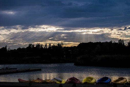Pond, Water, Lake, Nature, Reflection, Park, Landscape