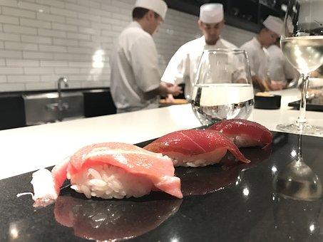 Omikase, Sushi, Nakasawa, Japanese, Salmon, Sashimi