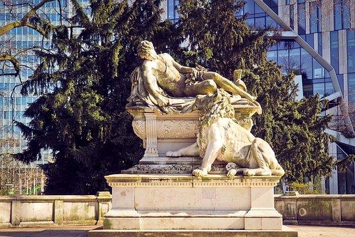 Statue, Monument, Figure, Lion, Sculpture, Artwork