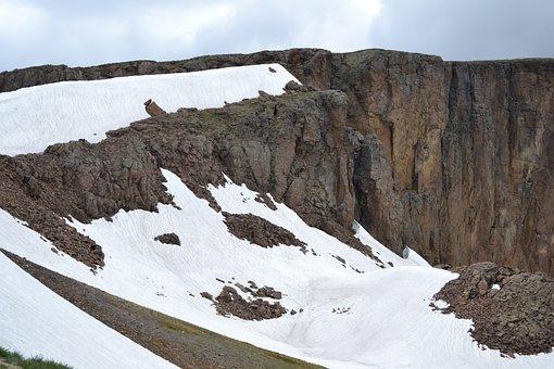 Snow, Mountain, White Cap, Winter, Ice, Cold, Season