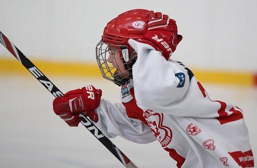 Hockey, Sport, Injury, Winter, Skater, Skating, Puck