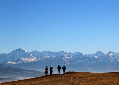 Switzerland, Belpberg, Nature, Mountains, Landscape