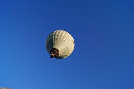 Hot Air Balloon, Air, Sky, Aircraft, Flying, To Want