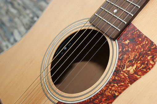 Guitar, Guitars, Stringed Instrument, Acoustic Guitar