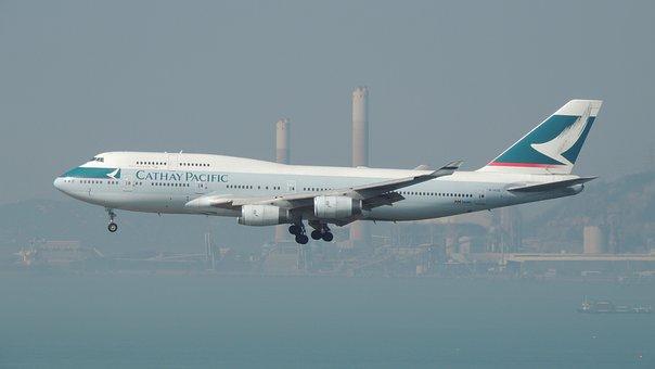 Hongkong, Air, Plane, Airport, Hong, Kong, Asian