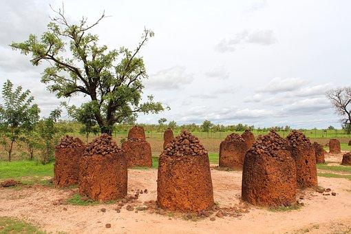 Wassu Stone Circle, Stone Circle, Ancient, Gambia