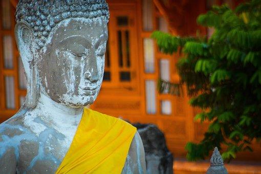 Buddha, Thailand, Statue, Ancient, Asia, Buddhism