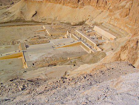 Thebes, Egypt, Hatchepsut, Temple, Antiquity