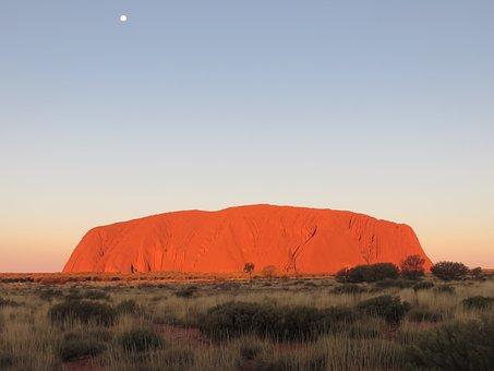 Uluru, Ayers Rock, Australia, Outback, Travel