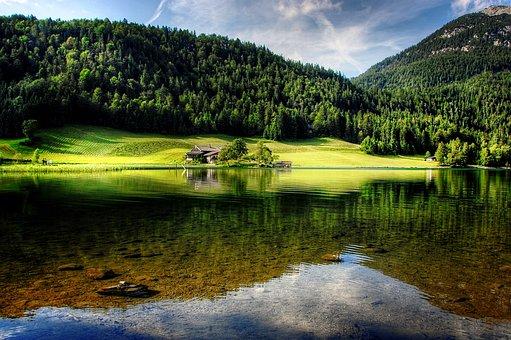 Tyrol, Mountains, Lake, Hiking, Austria, Nature