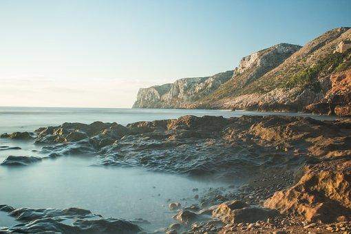Dawn, Rotes, Beach