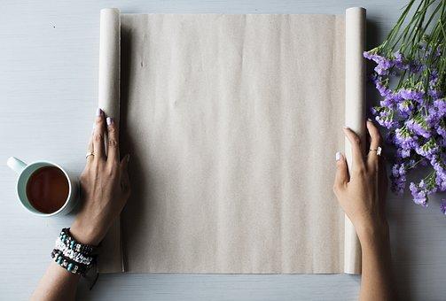 Attractive, Blank, Bloom, Blooming, Brown Paper, Bunch