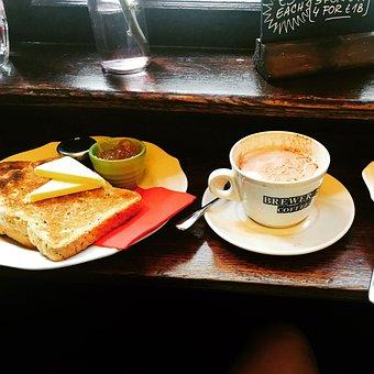English, Breakfast, Tea, Cup, Drink, Food, Traditional