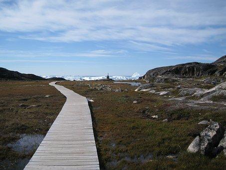 The Icefjord, Greenland, Jakobshavn