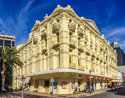 Perth, Theatre, His Majesty's, Australia, Landmark