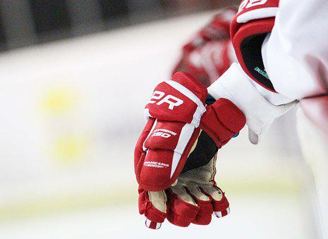Hockey, Player, Gloves, Bauer, Hockey Player, Voltage