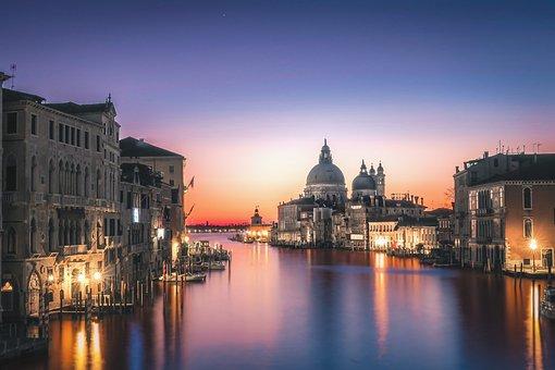 Venice, Basilica Di Santa, Maria Della Salute, Basilica