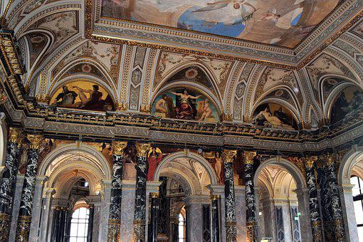 Mural, Klimt, Vienna, Art History Museum, Art, History
