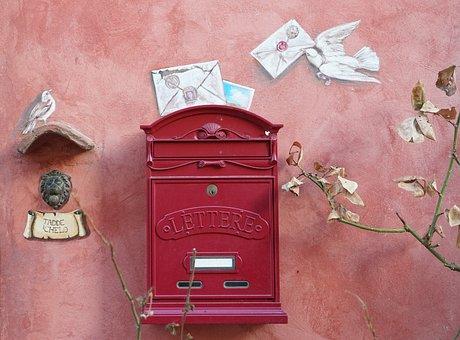 Letters, Post, Mailbox, Letter Boxes, Envelope, Send