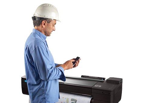 Printers Hp Large, Printer A0 Hp, Printer Cad-gis