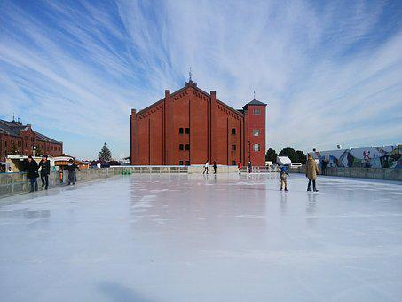 Red Brick Warehouse, Skate, Contrail, Yokohama