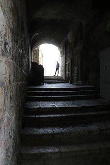 Street, Old, City, Jerusalem, Ancient