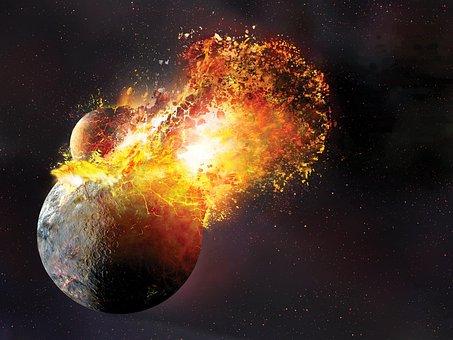 Space, Universe, Satellite