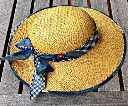 Hat, Sun Hat, Straw Hat, Women's Hat, Braid, Headwear