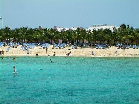 Turks Caicos, Island, Teal, Water, Ocean, Beach, Sea